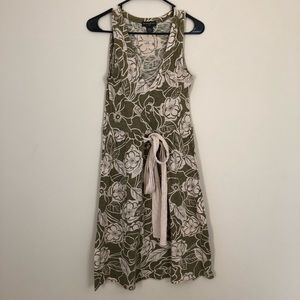 Banana Republic Floral V-neck Dress